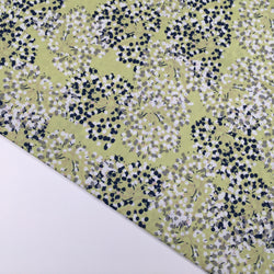 Rico Cotton Allium - Green Fabric - Cotton Reel Studio