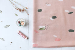 Atelier Brunette Moonstone Pink Viscose Fabric - Cotton Reel Studio