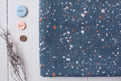 Atelier Brunette Terrazzo Night Fabric - Cotton Reel Studio