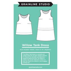 Grainline Studio Willow Tank and Dress