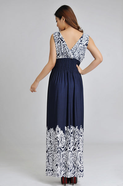 Sleeveless Pattern Sundress