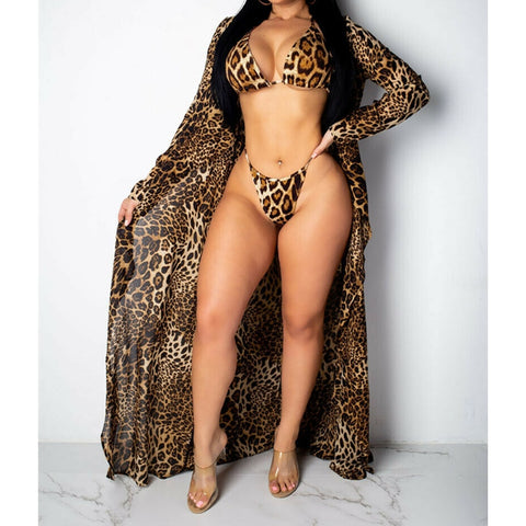 Jungle Bikini Set + Cover Up