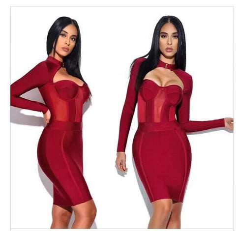 Be My Valentine Bandage Dress