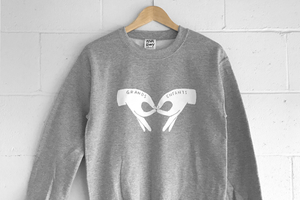 Crewneck - Grands Enfants - Gris