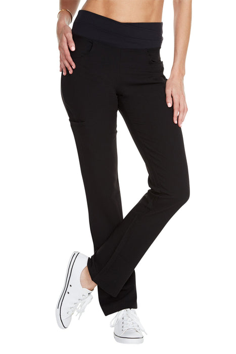 "Women's ""Cross My Hip"" Pant - Black"