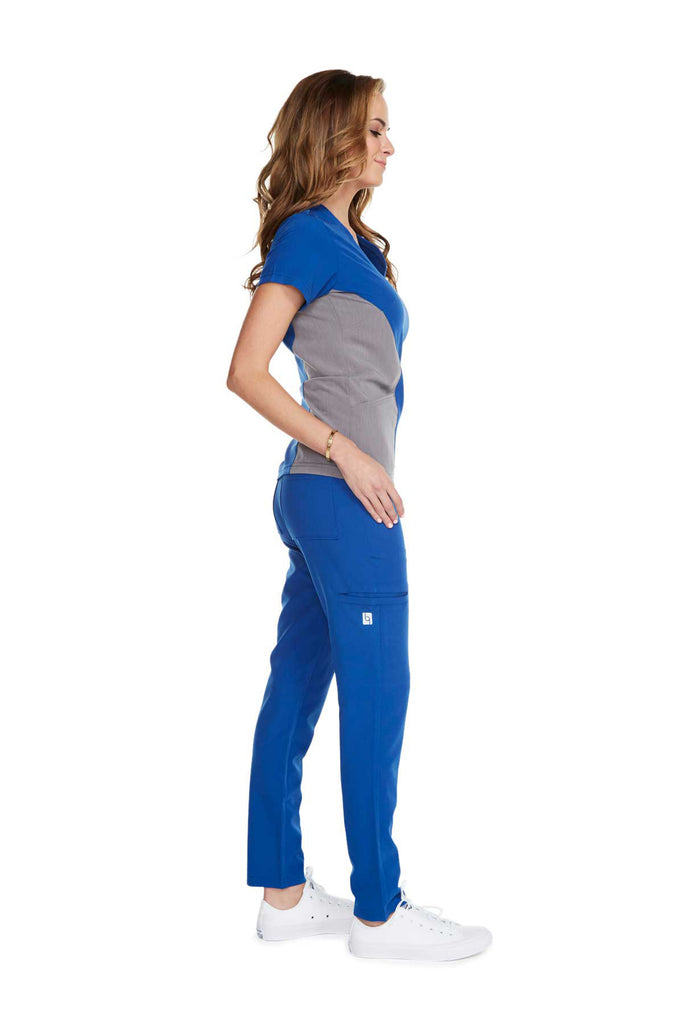 "Women's ""Body Balance"" Top - Royal Blue"