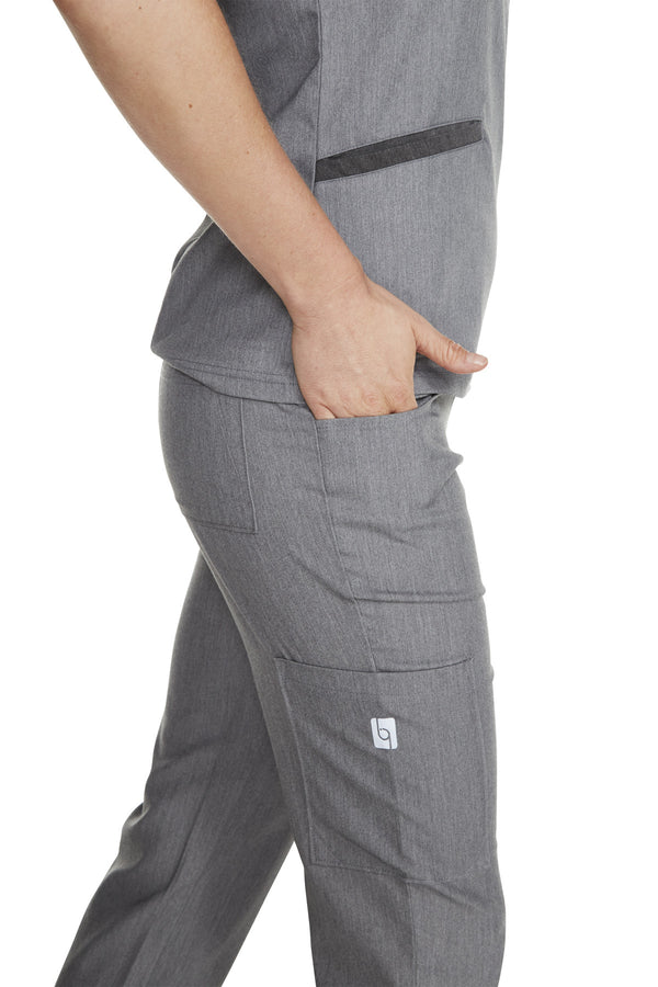 "Women's ""Yogi All Day"" Pant - Heather Grey"