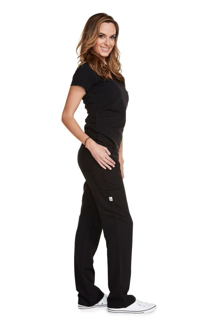 "Women's ""Body Balance"" Top - Black"
