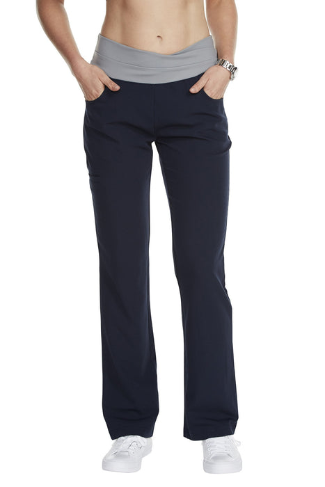 "Women's ""Cross My Hip"" Pant - Navy Blue"