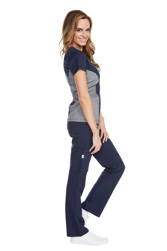 "Women's ""Yogi All Day"" Pant - Navy Blue"