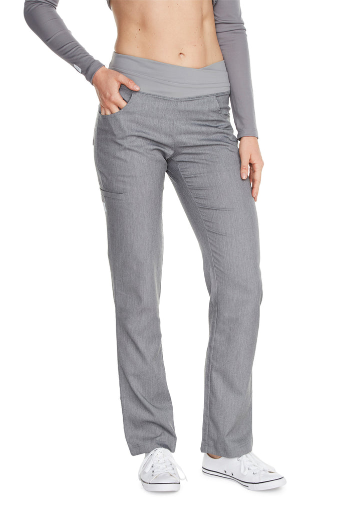"Women's ""Cross My Hip"" Pant - Heather Grey"