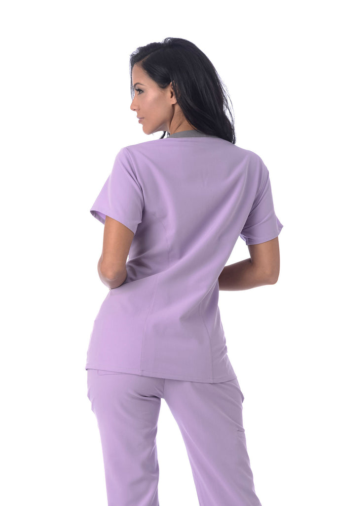 "Women's ""Better Than Basic"" Top - Lavender"