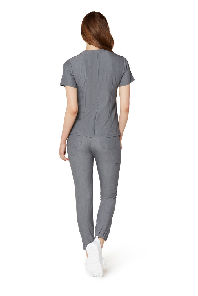 Women's Zipper Top - Graphite