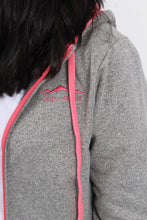 Pink Jacket- Lauren James Preptec Zip Hoodie Detail