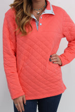 Lauren James Lawson Quilted Pullover