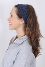 Heathered Headband- Prism Reversible Headband