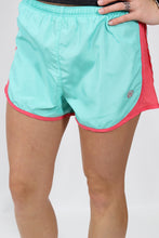 Seafoam Shorts- Lauren James Preptec Athletic Shorts Front