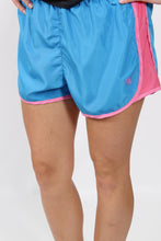 Ocean Blue Shorts- Lauren James Preptec Athletic Shorts Front