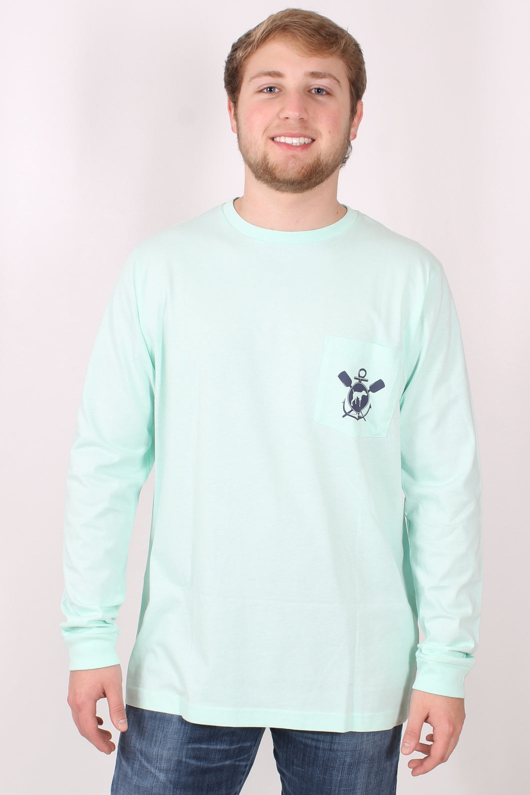 Mint L/S- Southern Point Boat Long Sleeve Front