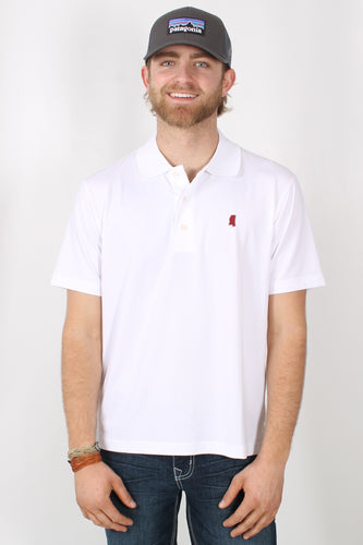 White Polo- State Traditions Polo Front