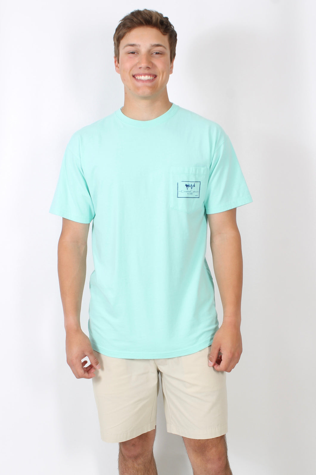 Aruba S/S- Coastal Cotton Better In Short Sleeve Front