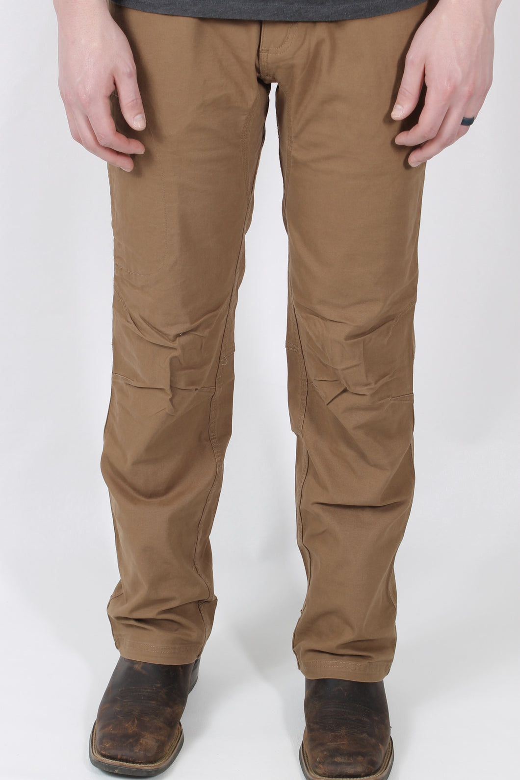 Tobacco Pants- Mountain Khaki Camber Pants Front