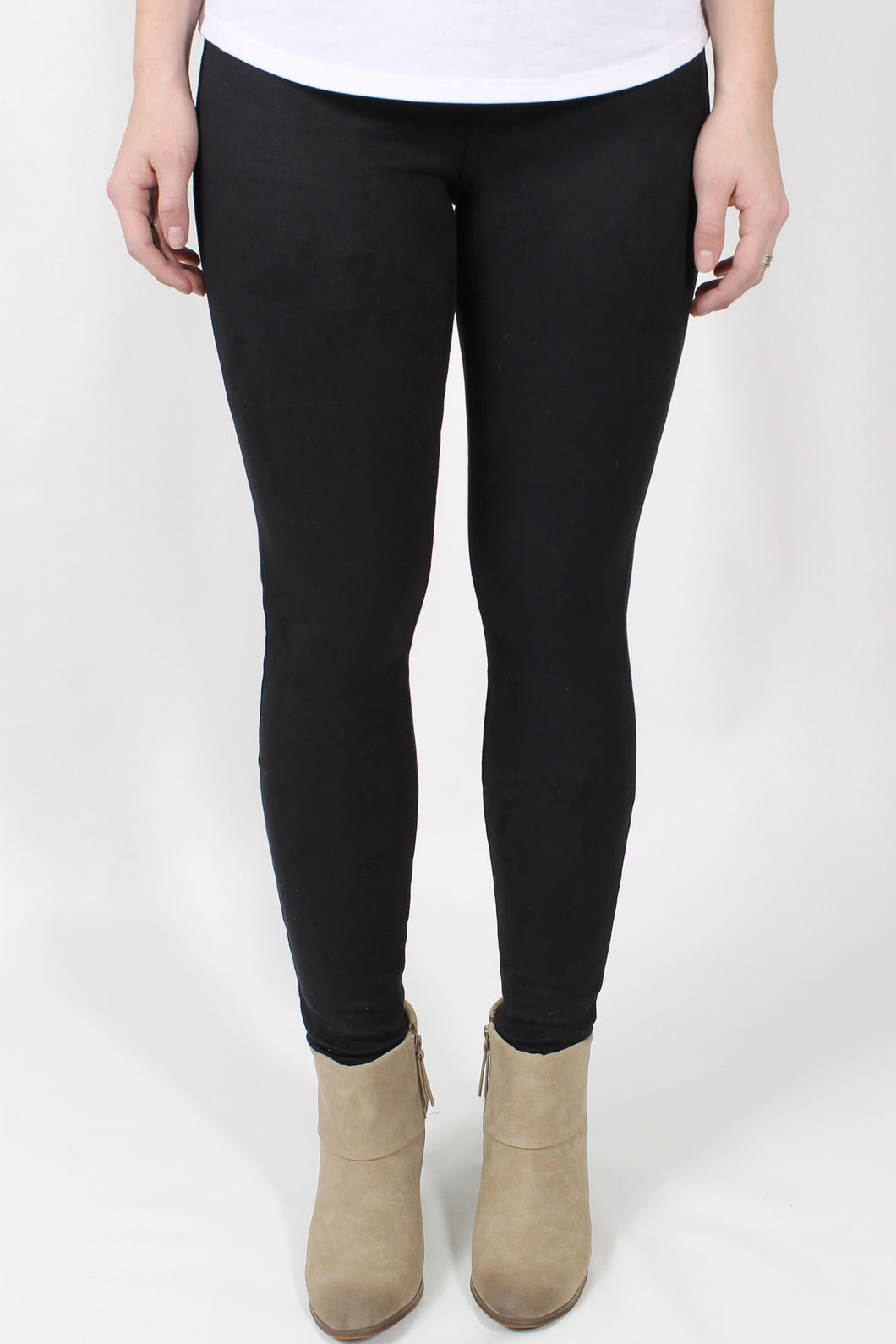 Black Jeans- Level 99 Janice Mid-Rise Ultra Skinny Front