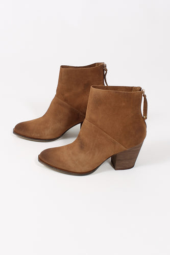 Suede Whisky Booties- Chinese Laundry Kind Heart