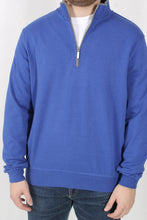 Royal Blue Pullover- Carnoustie 1/4 Zip Pullover Detail
