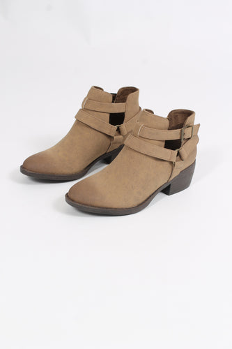 Tan Booties- BC Footwear Communal
