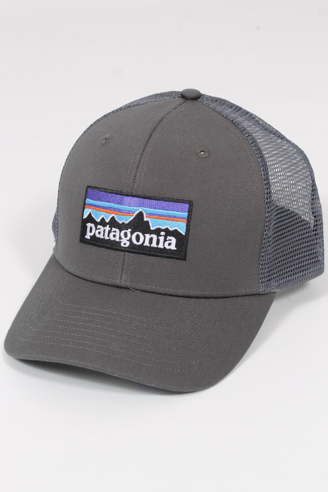 Forge Grey- Patagonia P-6 Logo Trucker Hat