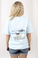 Chambray S/S- Morgan Row Don't Stop Retrievin' Tee Back