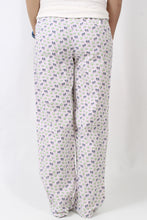 Cameilia with Lime PJs- Southern Marsh Savannah Pastimes Lounge Pant Back