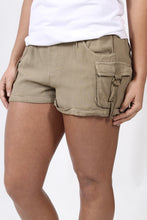Khaki Shorts- Others Follow Traveler's Tale Shorts Front