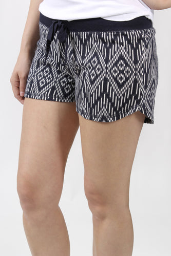 Navy Short- P.J. Salvage Batik Me Short Front