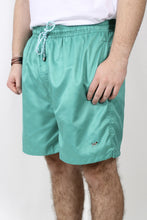 Green Trunks- Southern Point Water Activated Swim Trunks Front