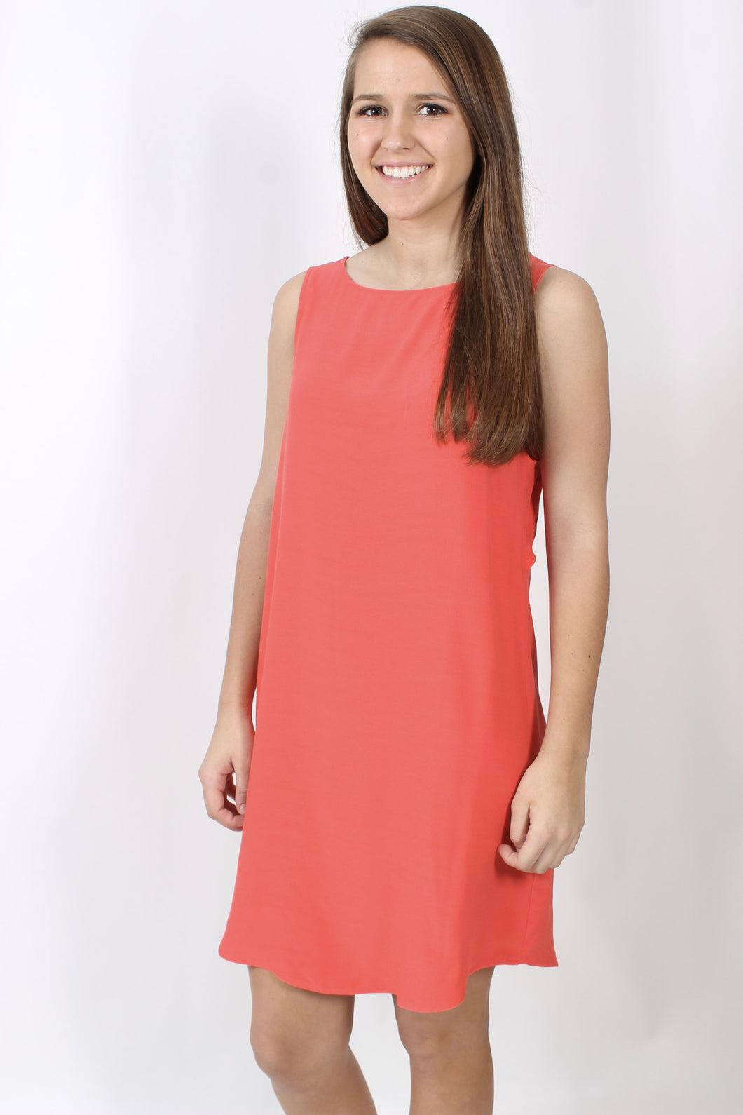 Valentine Red Dress- BB Dakota Jodi Dress Front