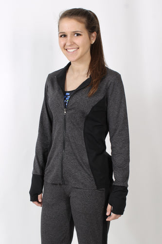 Charcoal Jacket- Prism Pacesetter Jacket Front