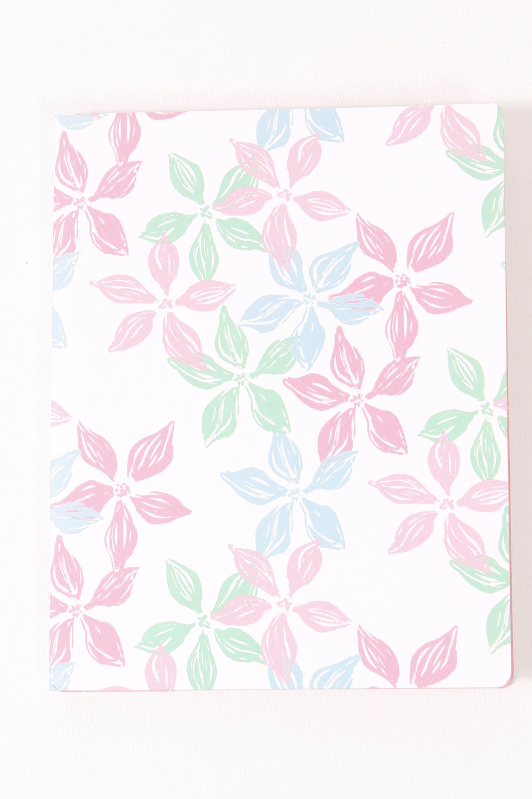 Floral Notebook- Lauren James Stitched Notebook Front