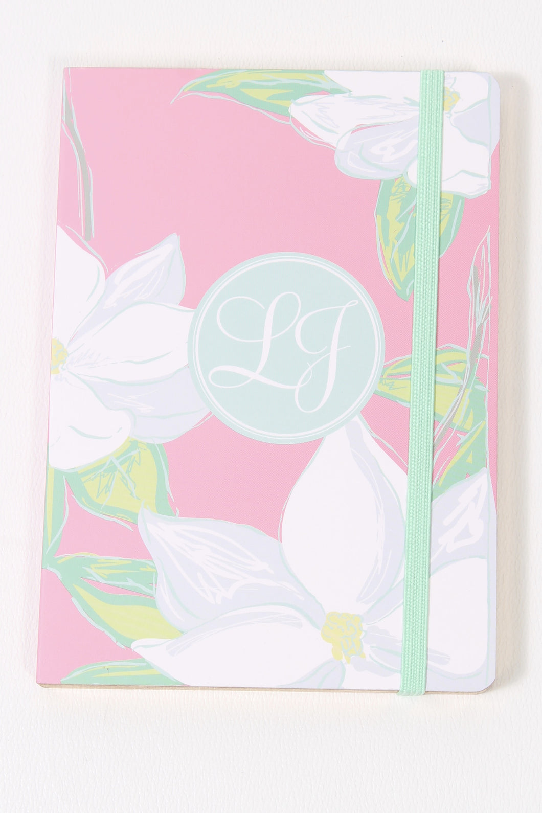 Magnolia Notebook- Lauren James Pocket Notebook Front