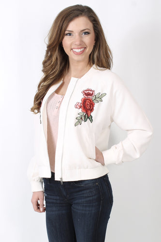 Ivory Jacket- Jack by BB Dakota Varis Jacket Front