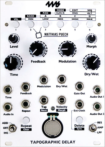 4MS Tapographic Delay ON SALE!