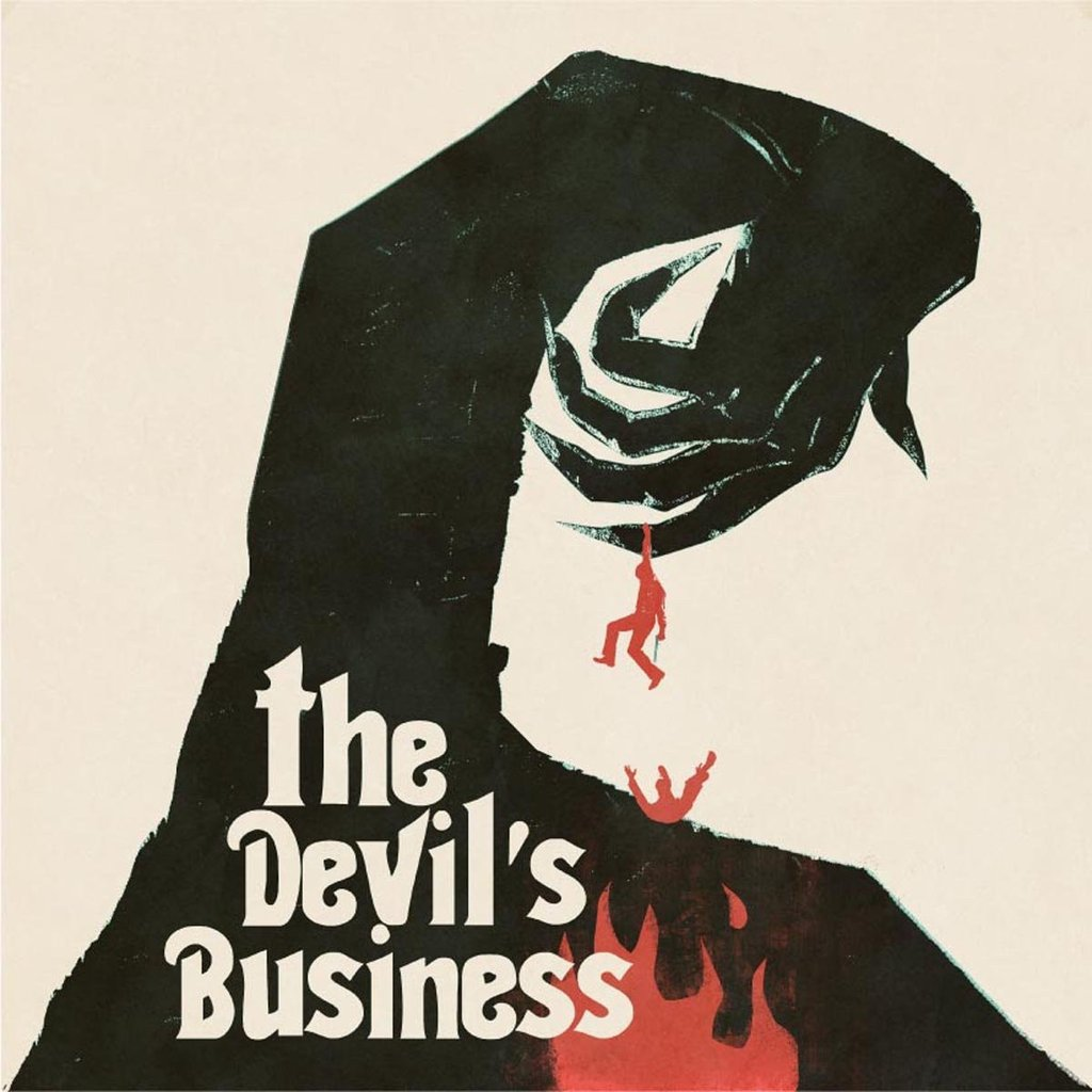 The Devil's Business - Original Motion Picture Soundtrack LP - By Justin Greaves