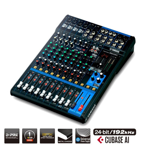 Yamaha MG12XU Mixer - Audio Interface