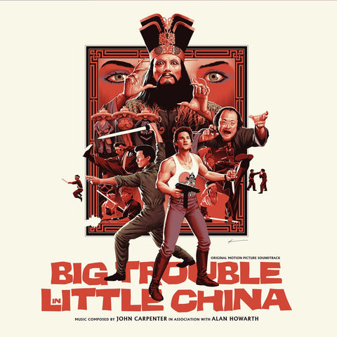 Big Trouble in Little China - Original Motion Picture Soundtrack 2XLP - John Carpenter with Alan Howarth