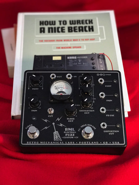 RML Retro Mechanical Labs Electron Fuzz Custom Euro CV