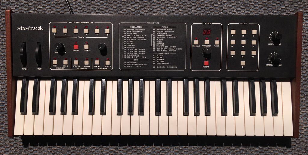 Sequential Circuits Six-Trak Used Vintage
