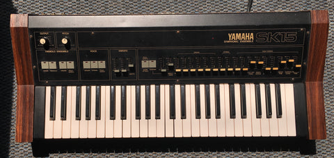 Yamaha SK15 ensemble synth Used Vintage