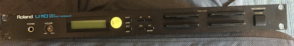 Roland U-110 Sound module with 4 cards! Used