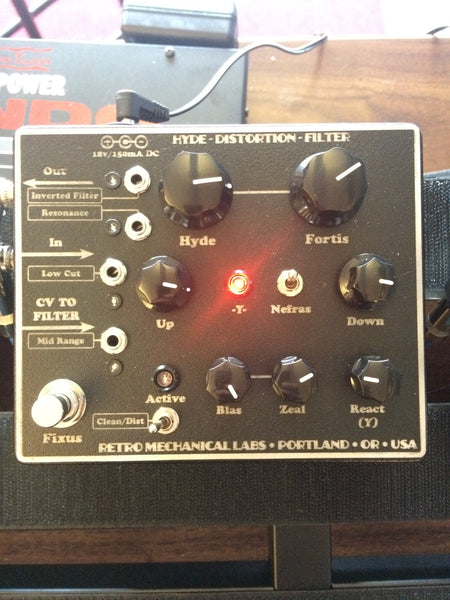 Retro Mechanical Labs Hyde Single Distortion Filter
